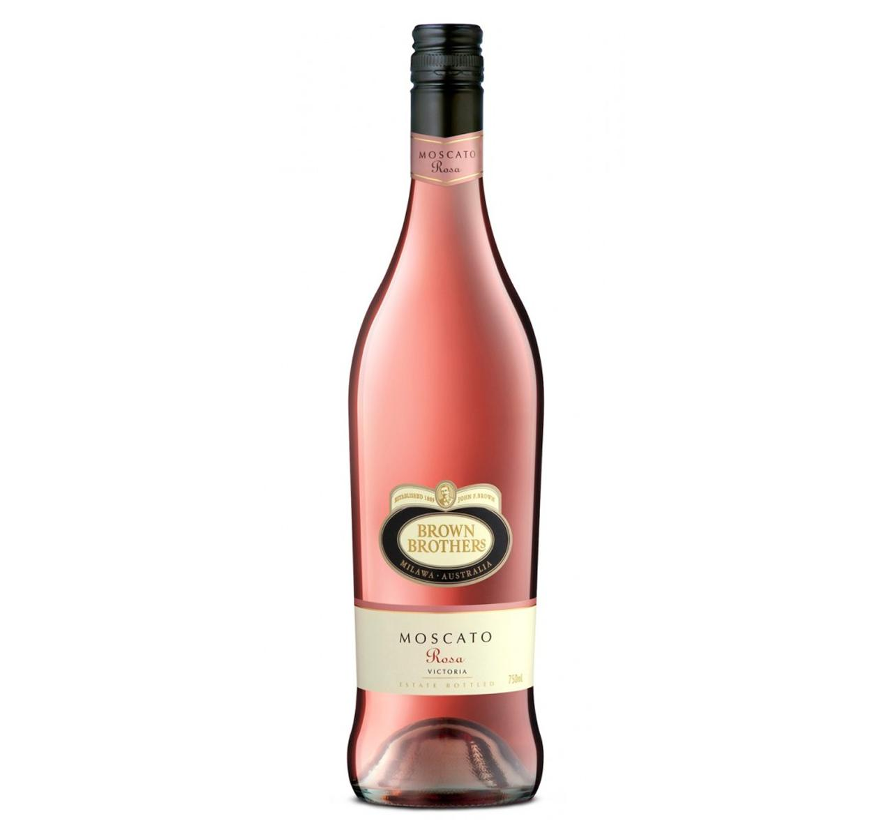 Brown Brothers Moscato Rosa 750ml By Newcastle Drinks.