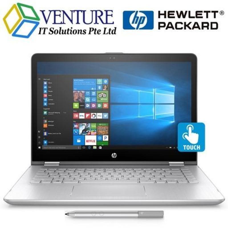 [NEW 8TH GEN] HP PAVILION x360 CONVERTIBLE 14 BA110TX I7-8550U 8GB 512GB-M2SSD NVIDIA-940MX-4GB 14.0FHD-IPS WIN10