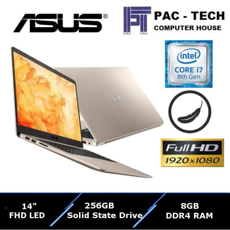 Asus Vivobook S (S410UA-EB247T)/i7-8550U/8GB DDR4 RAM/256GB SSD/1 Year Asus Warranty/Thin and Lightweight