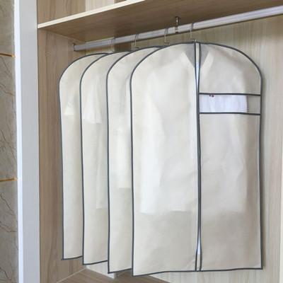 5 Pieces Clothing Dustproof Bag Clothes Cover Clothes Hood Dust Cover Overcoat Dust Cover Garment Bag NON-WOVEN Garment Bag