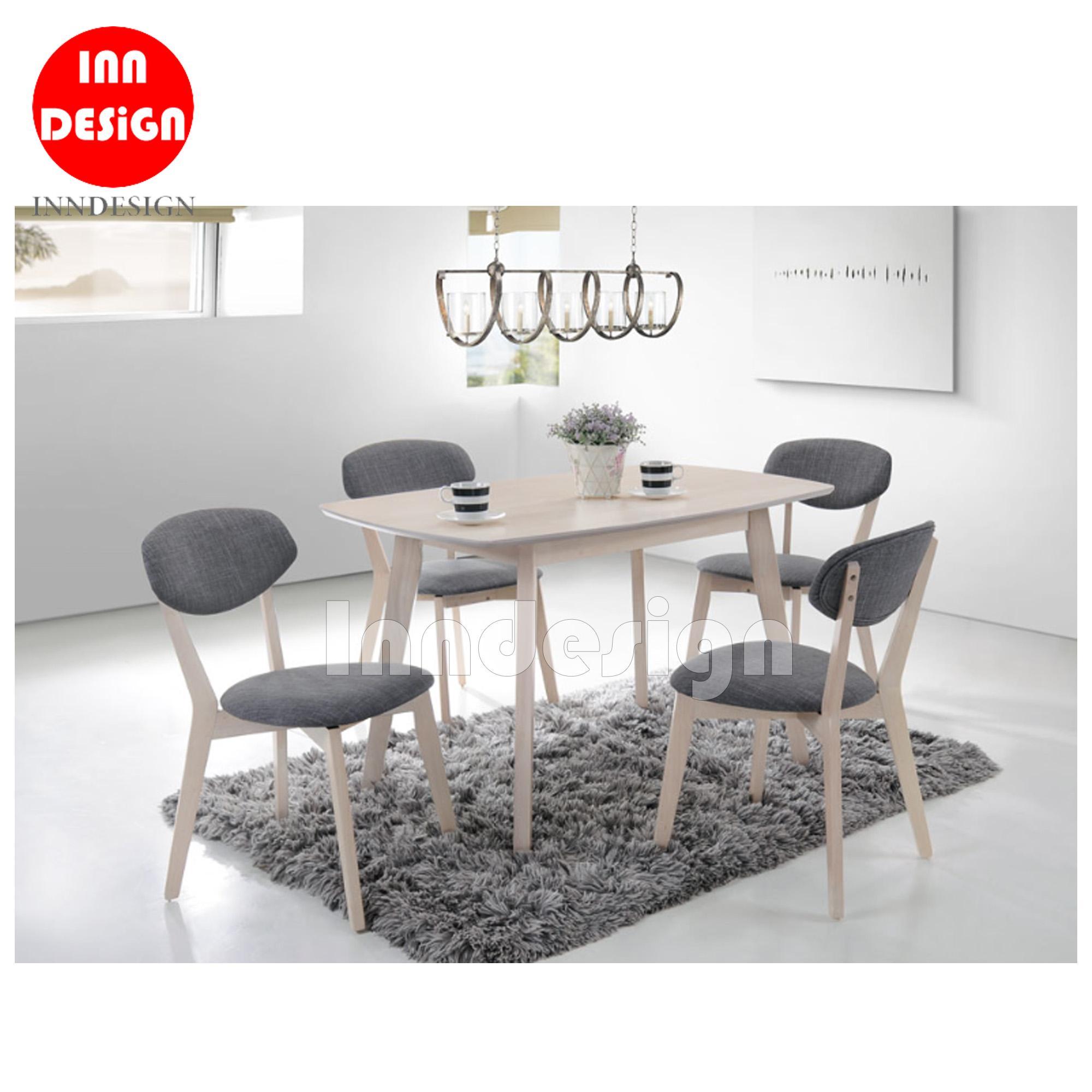 Zalo II 1+4 Dining Table Set