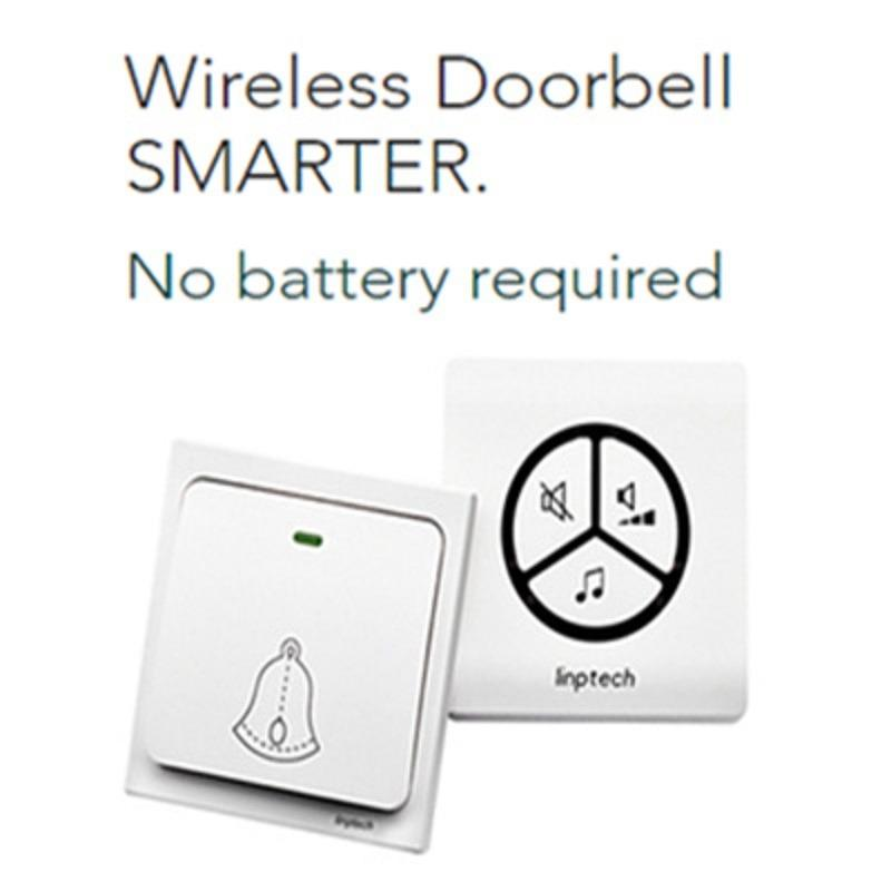 Linbell Doorbell Wireless and No Batteries