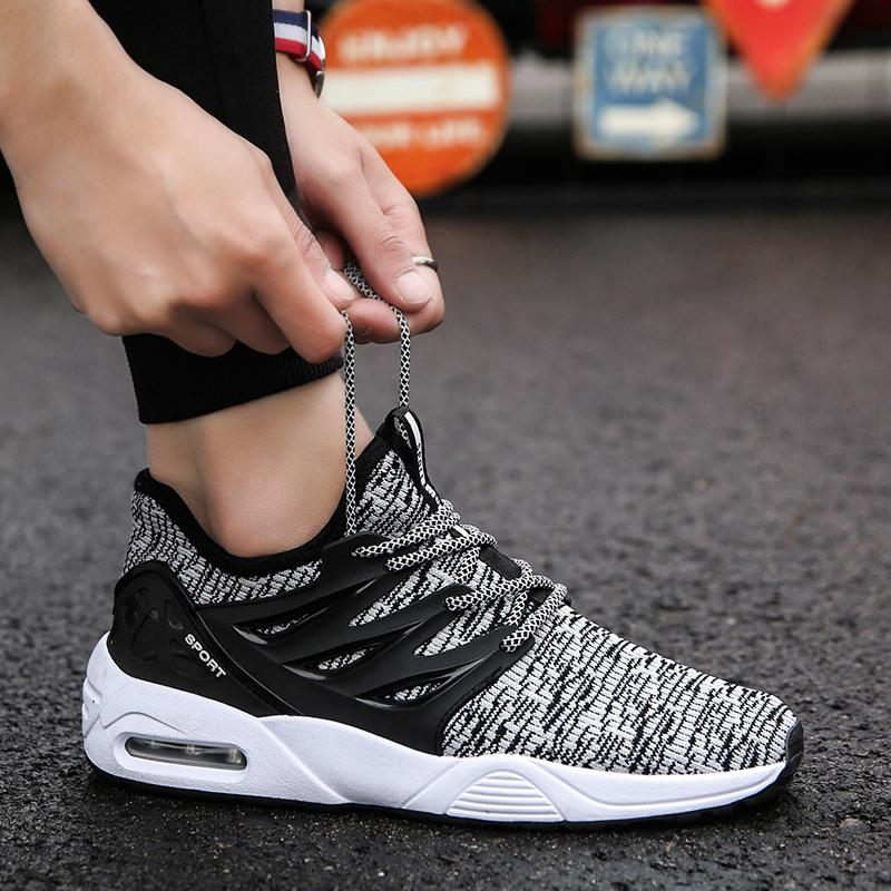 23b46b946d 2019 New Style Spring Men Sports Casual Running Trendy Shoes Korean Style  Trend Versatile Students Shoes