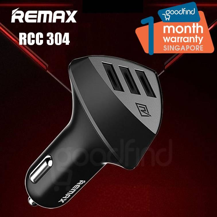 Remax Aliens Rcc 304 Fast Car Charger 3 Usb Port Car Charger Rcc-304 By Goodfind.