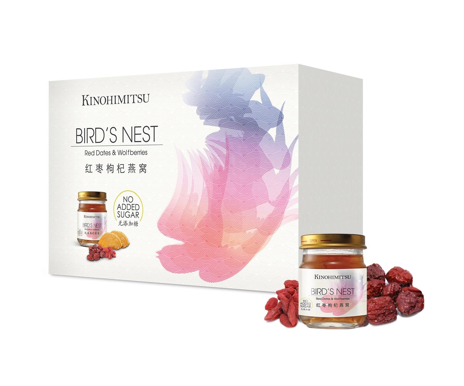 Kinohimitsu Bird's Nest with Red Dates & Wolfberries 6s