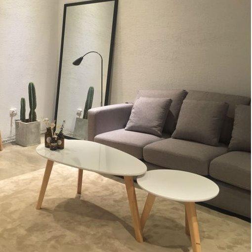 Scandinavian Style Coffee Table Set