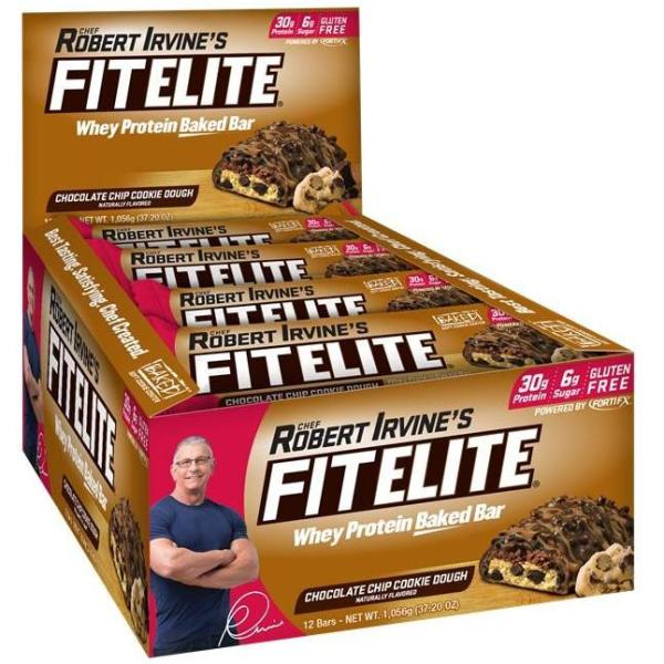 Buy Fit Elite Chocolate Chip Cookie Dough Protein Bars Singapore