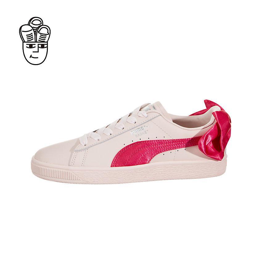 9b4b8ca57d8a3a Puma Basket Bow Retro Shoes Unisex 36732102 -SH