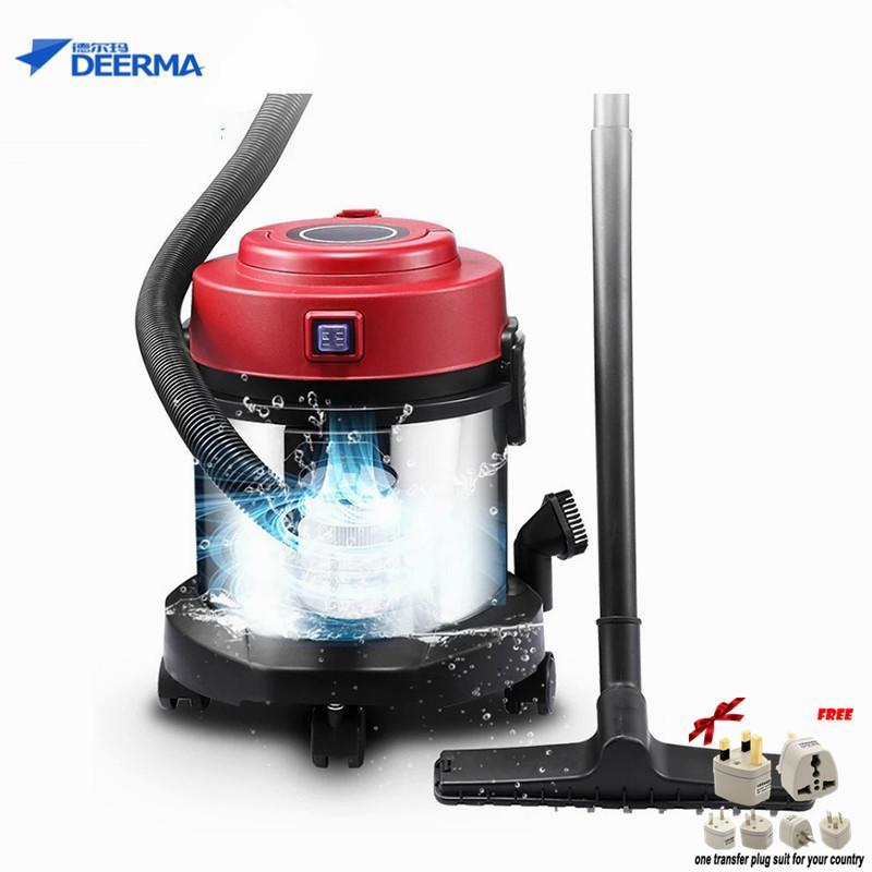 LAHOME Deerma Small Powerful Vacuum Cleaner Household Bucket Wet/Dry DX132F Singapore
