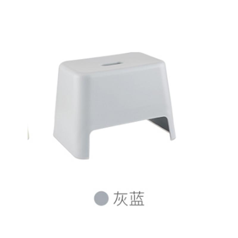 Japanese Style Thick Plastic Small Short Stool Children Bath Wash Your Hands Small Bench Bathroom fang hua deng Household Shoes Square Stool