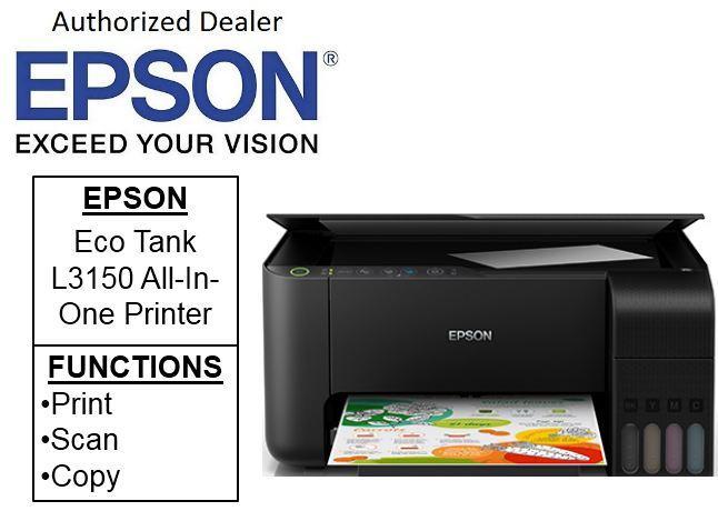 Epson EcoTank L3150 Wi-Fi All-in-One Ink Tank Printer Singapore