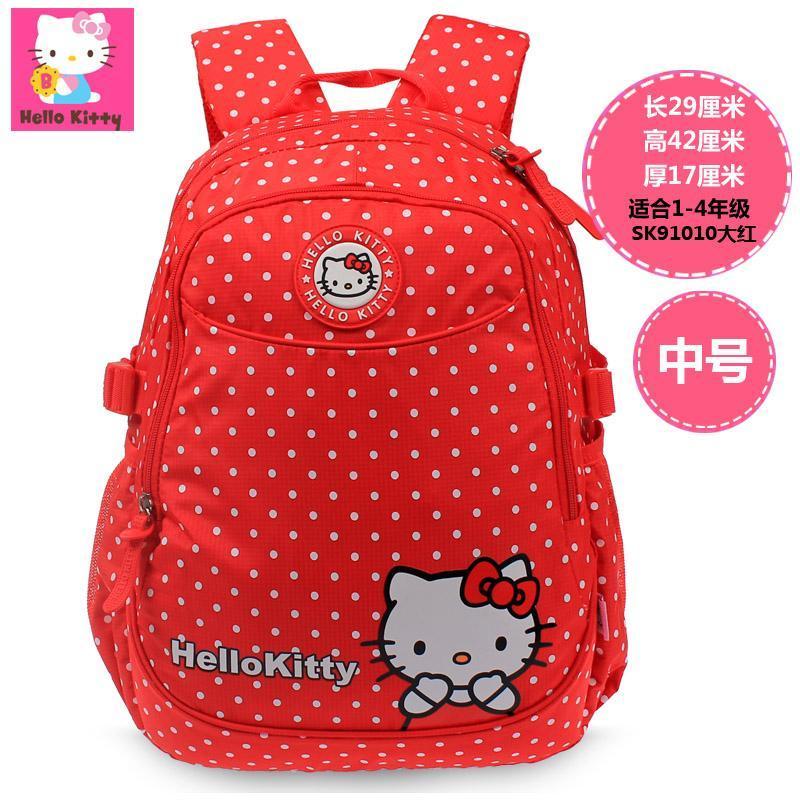 Hello Kitty casual girls travel backpack school bag