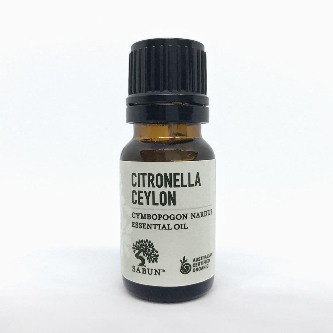 Organic Citronella Essential Oil