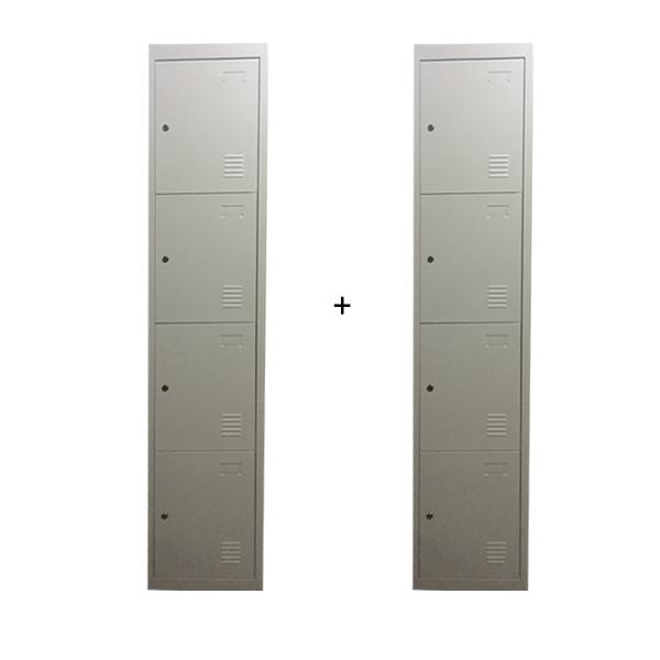L-B4 (2 sets) - 4 Compartment Locker