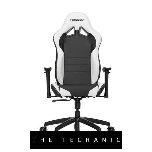 VERTAGEAR RACING SERIES SL2000 GAMING CHAIR BLACK/WHITE