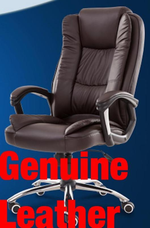 UMD Genuine Leather Boss Chair Director Chair Type A338 (Free Installation) Singapore