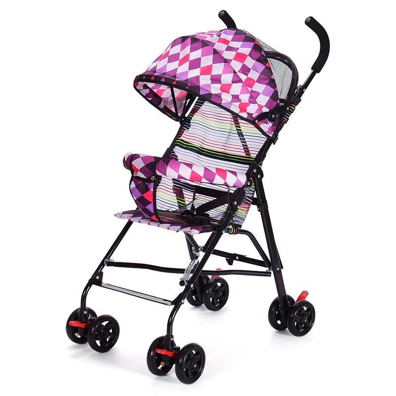 Infant Cart Can Sit Armchair Ultra-Light Portable Folding Children Baby Mini Trolley Simplicity Kids Buggy Singapore