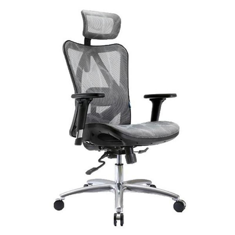M16 Ventilated Office Chair (Grey) Singapore