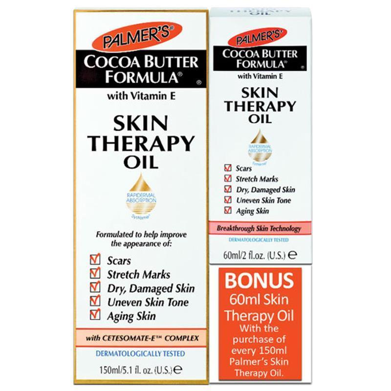 Buy Palmers Cocoa Butter Formula Skin Therapy Oil 150mL with Bonus 60mL Singapore