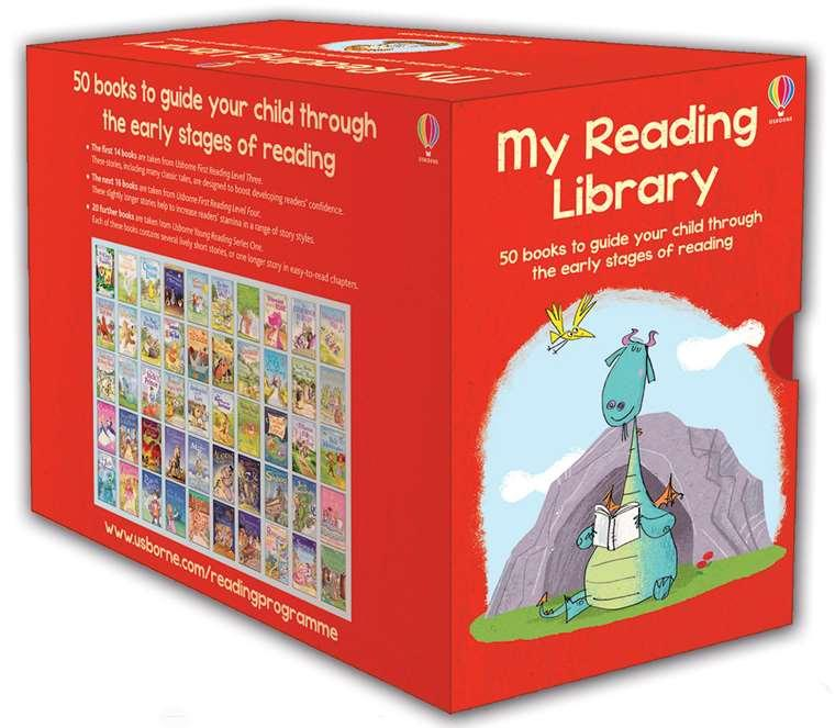 Usborne My Reading Library Collection (50 Books) - Second Library