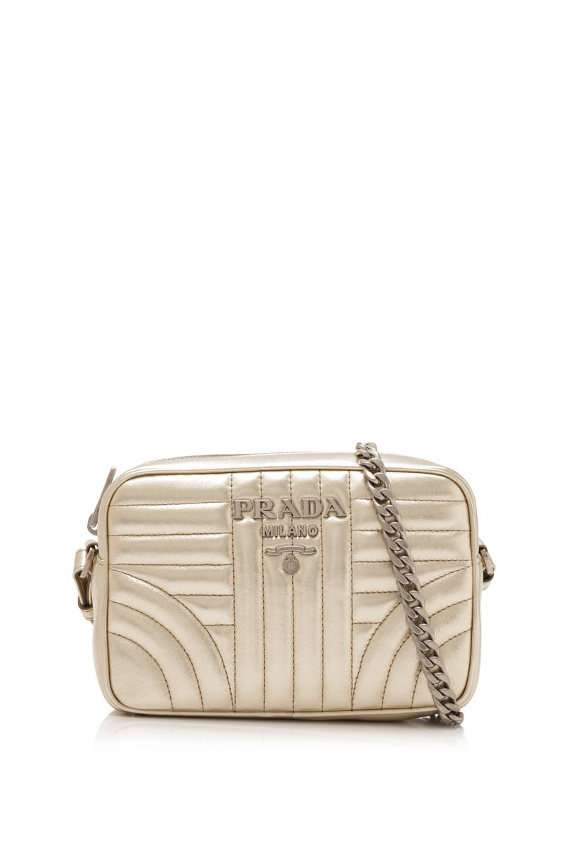 d41ea7cee661 ... real prada soft calf impunture diagramme sling bag f9018 199da