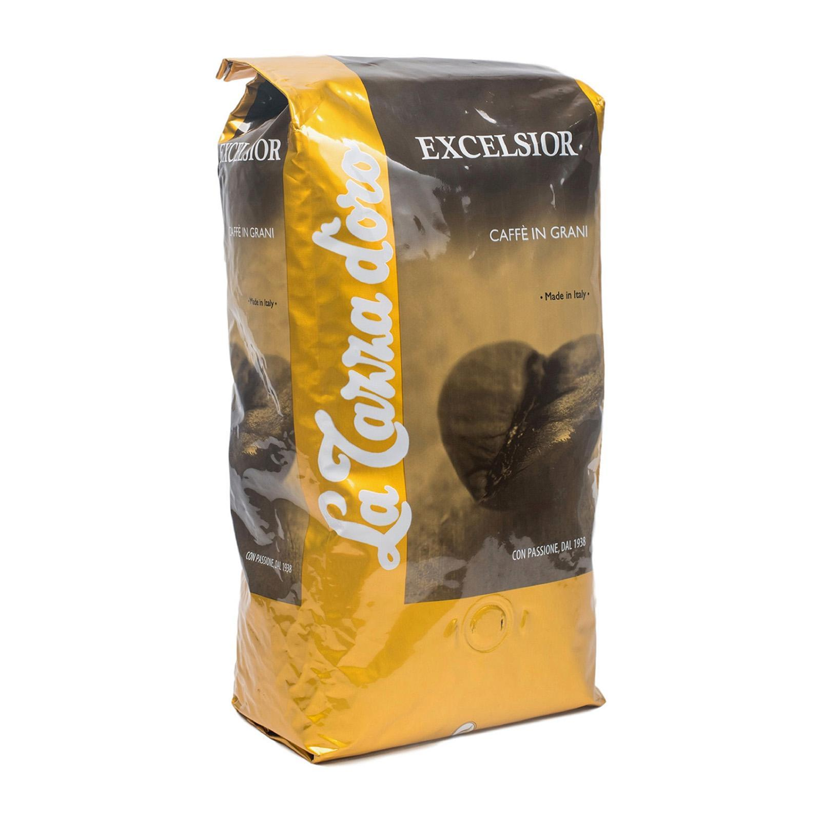 Purchase La Tazza D Oro Excelsior Premium Espresso Whole Beans 1Kg Online