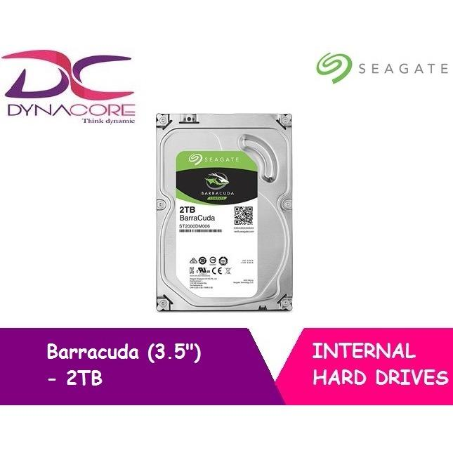 Sale Seagate Barracuda 2Tb 3 5 Internal Hard Disk Drive Sata 7200 Rpm Online Singapore