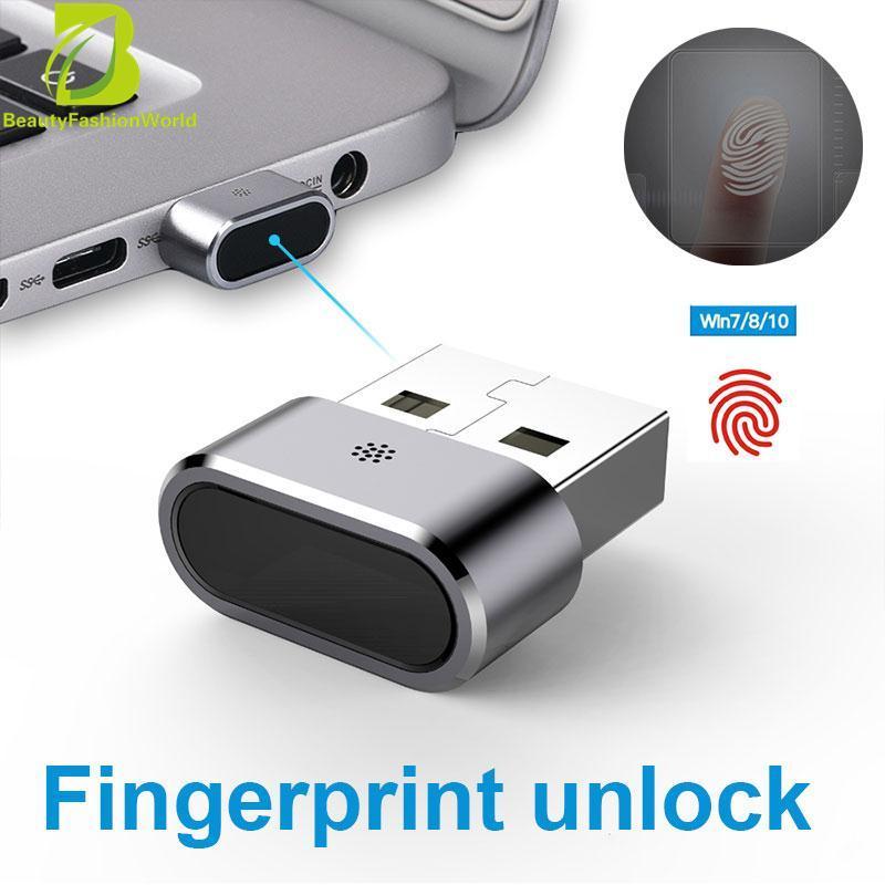 BeautyFashionWorld Encrypted File Profession Mini USB Fingerprint Reader