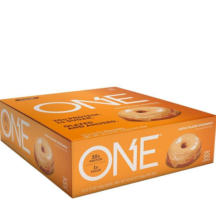 Best Ohyeah One Bar Maple Glazed Doughnut Box Of 12