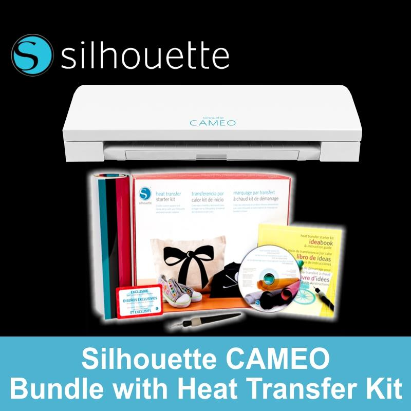 Where To Shop For Silhouette Cameo 3 Heat Transfer Vinyl Cutter Starter Kit Bundle