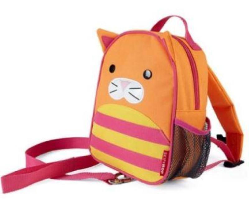 Cat Skip Hop Zoo Safety Harness Bag Skiphop