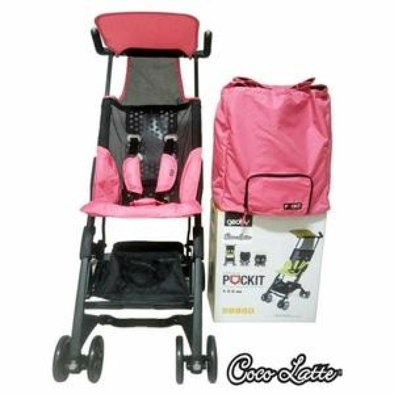 Pockit Stroller CL689  Lightweight  Flight Cabin Approved  FREE BAG Singapore