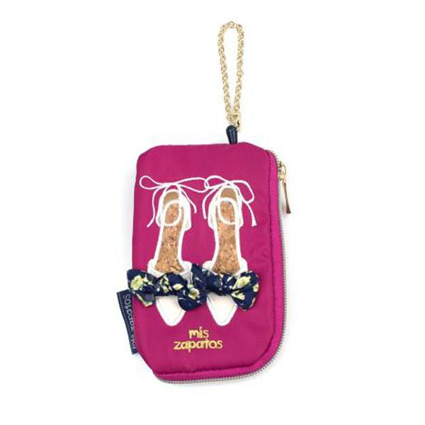 Mis Zapatos Womens Cute Coin Purse Pass Card Case With Key Ring B-6660 By Ryan&rayla.