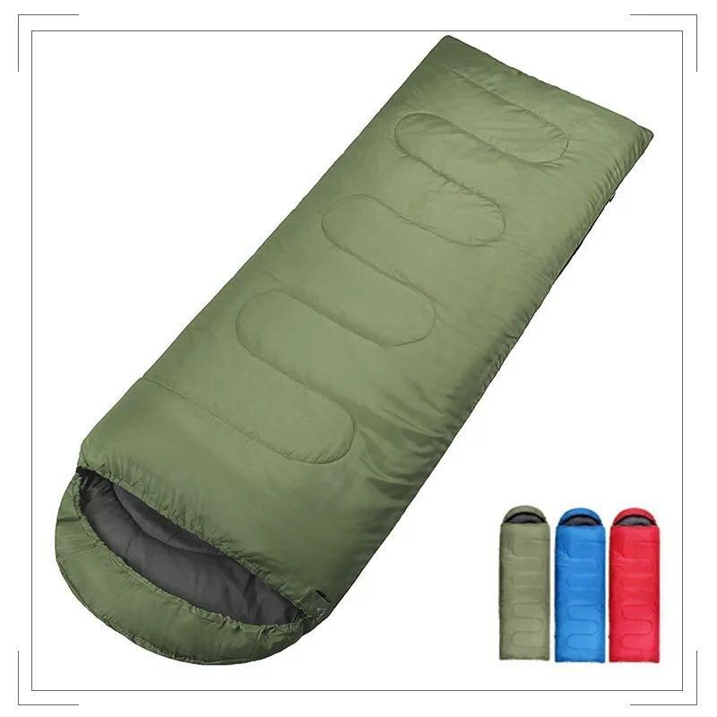 Outdoor Fleece Sleeping Bag Camping Trip Air Quilt Liner Warm 3 Season For Travel Camping Lunch Break Knee Blanket Sleeping Bags Sports & Entertainment Camping & Hiking