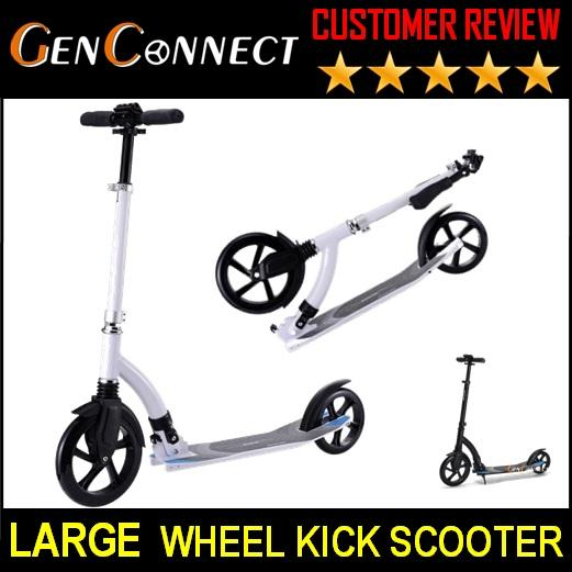 Premium Abec 7 Ball Bearing! Scooter Foldable Kick Scooter For Kids To Adult By Genconnect.