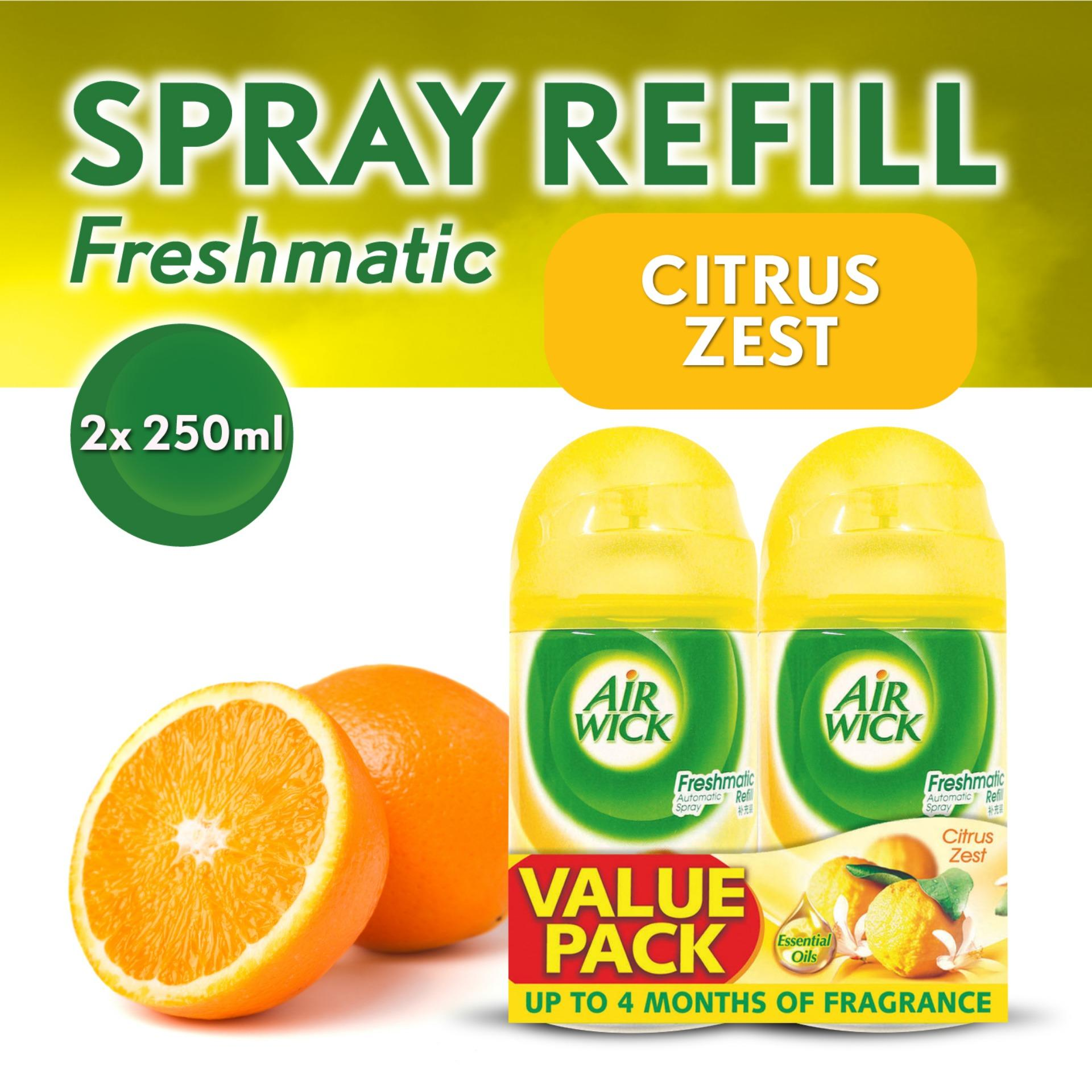 Airwick Freshmatic Citrus Zest Refill  Twin Pack Air Care / Freshener