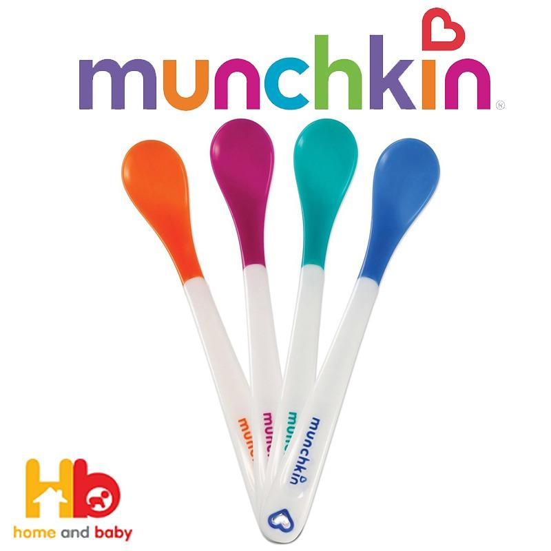 Munchkin White Hot Infant Spoons (set Of 4) By Home And Baby.