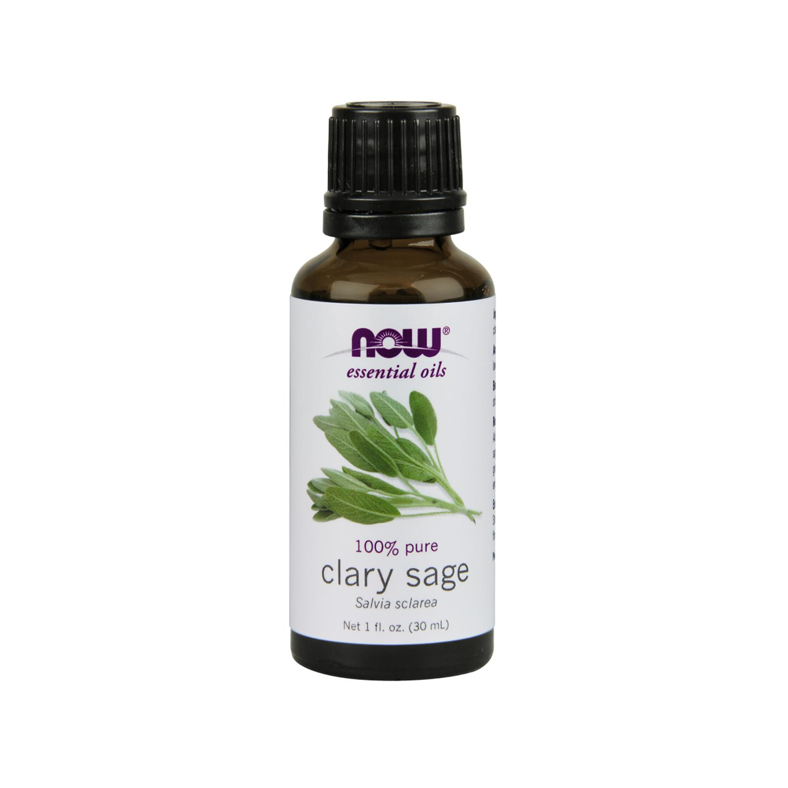 Now Foods Essential Oils Clary Sage, 1 fl oz (30 ml)