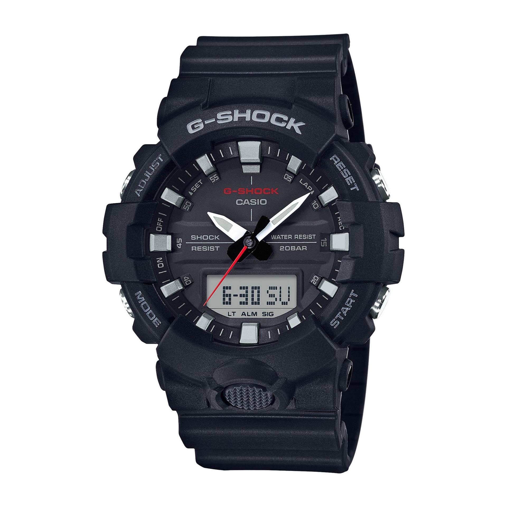Retail Casio G Shock Ga 800 1A Analog Digital Black Resin Big Men S Sport Watch