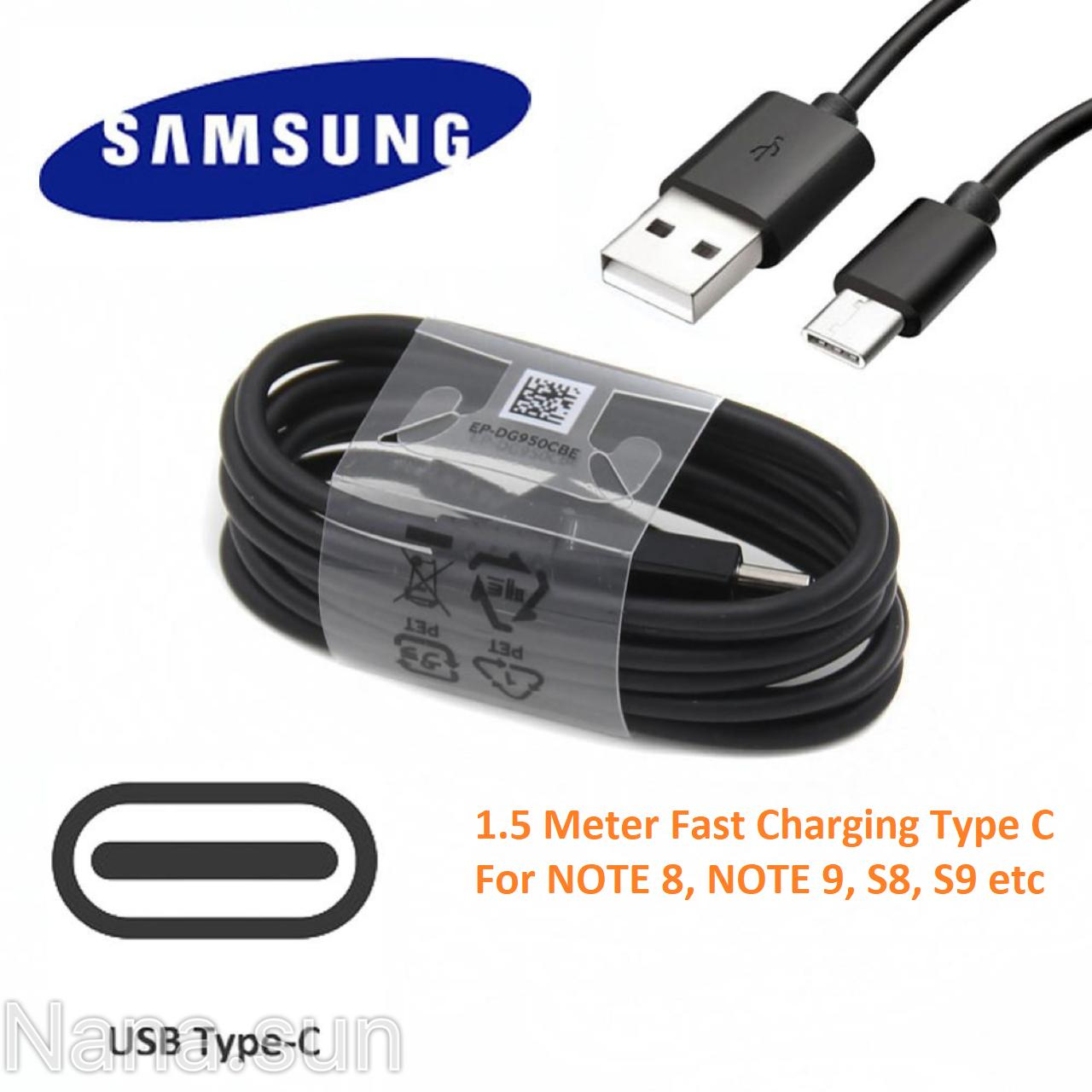 Samsung Original Cable for Note 9 / Note 8 / S8 / S8 Plus / S9
