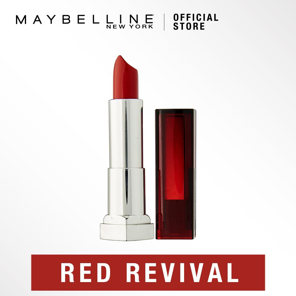 Maybelline Color Sensational Lipstick-645 Red Revival By Maybelline.