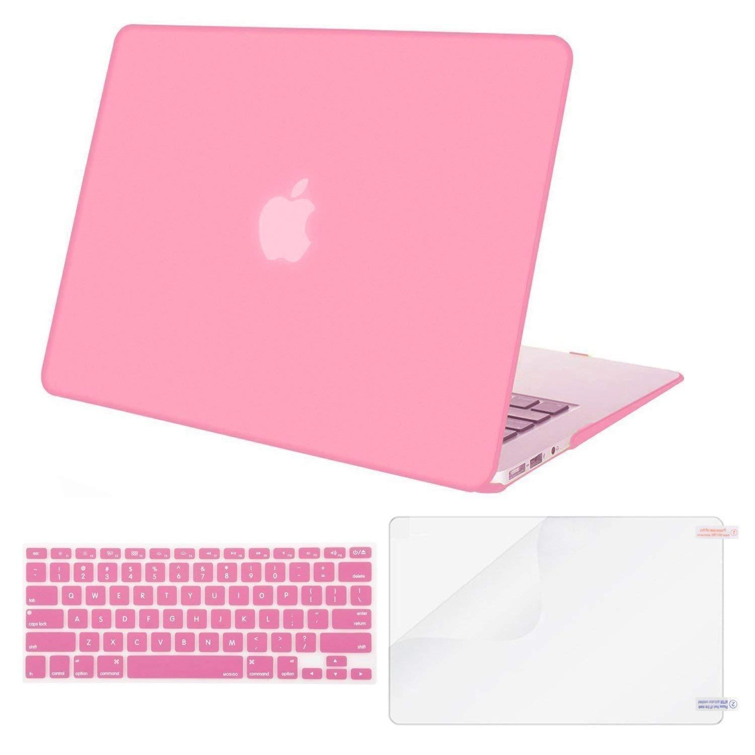 MacBook Plastic Hard Case with Keyboard Cover with Screen Protector Only Compatible MacBook Pro (No USB-C) Retina 13 Inch (No CD-Rom)(A1502/A1425), Release 2015/2014/2013/end 2012