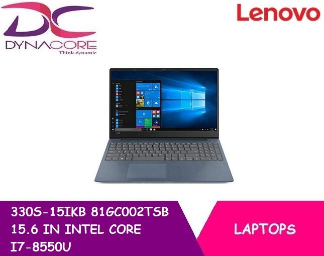 BRAND NEW LENOVO 330S-15IKB 81GC002TSB 15.6 IN INTEL CORE I7-8550U 20GB 1TB WIN 10