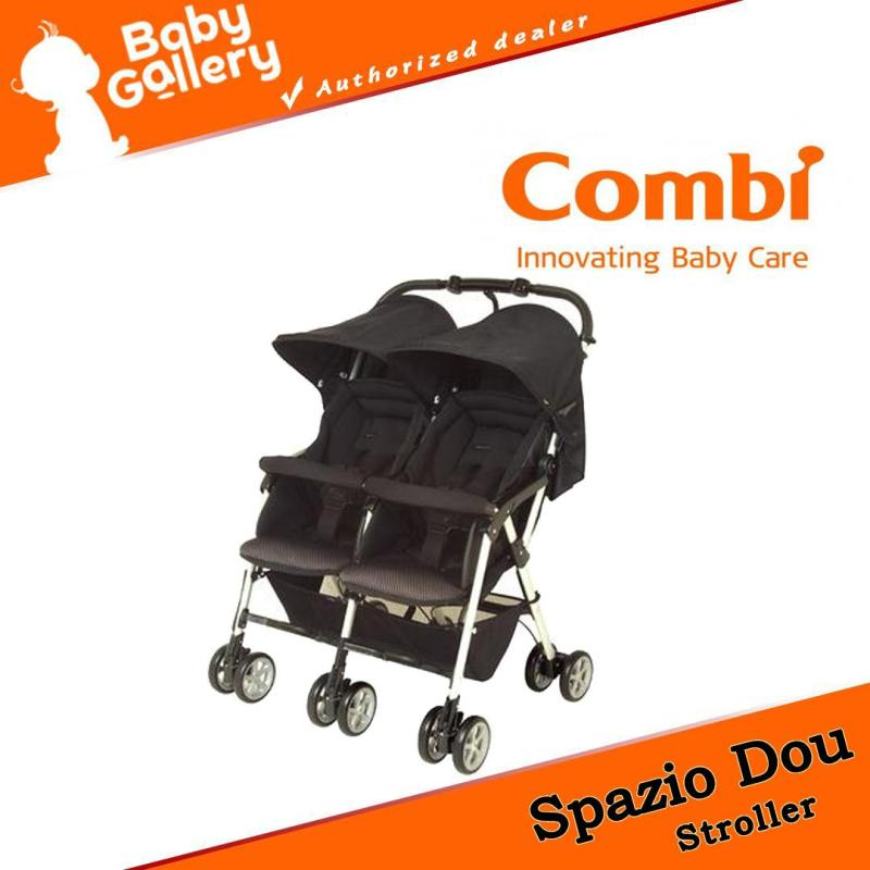 Combi Spazio Dou Baby stroller for Two (1 Month to 36 months) Black Singapore