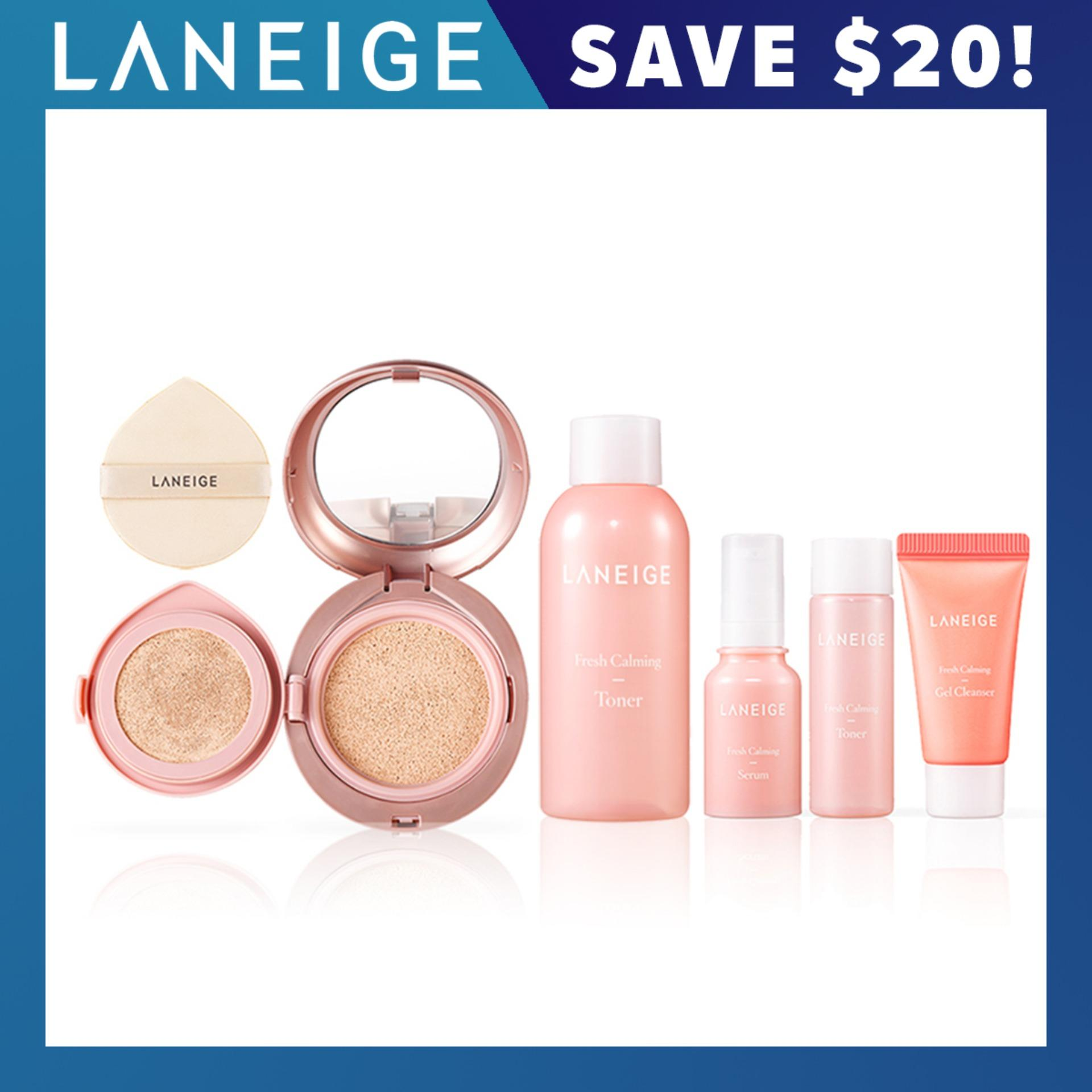 [LAUNCH SPECIAL] LANEIGE Layering Cover Cushion & Concealing Base [Select from 7 Shades]