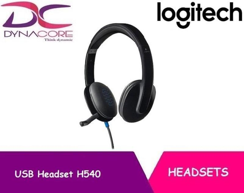 Logitech USB Headset H540 for PC Calls and Music Singapore