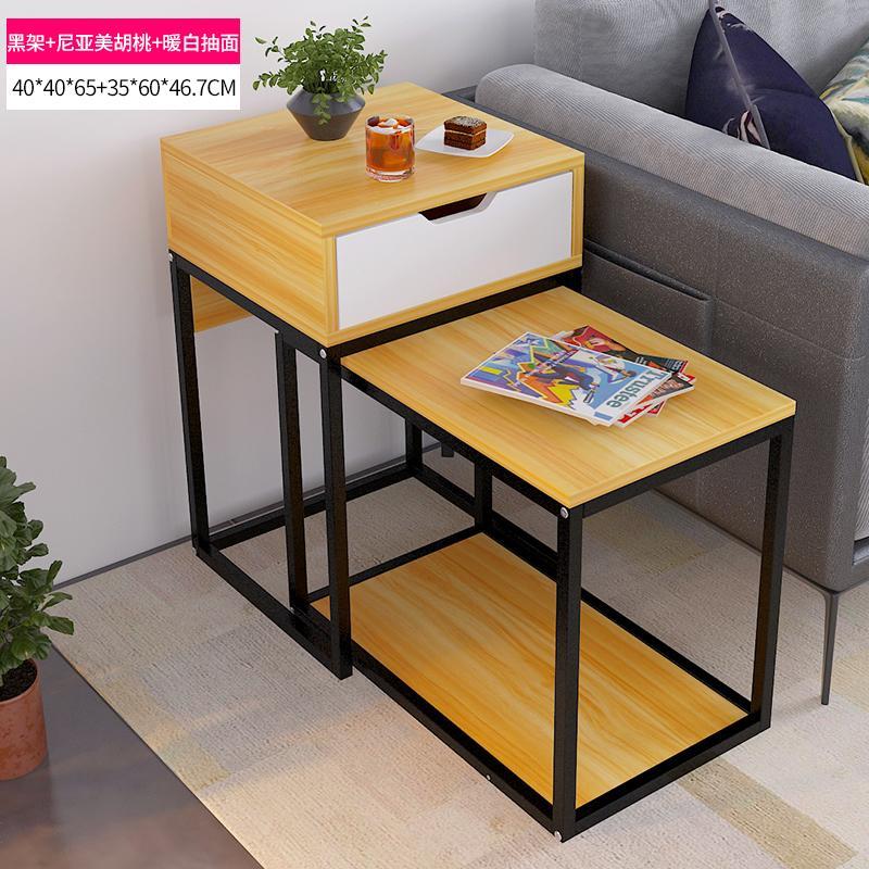 [Tmall Signature] Yi Jia Da CJ00344 Side Table Simple Sofa Side Cabinet Living Room Creative Side Table Multi-functional