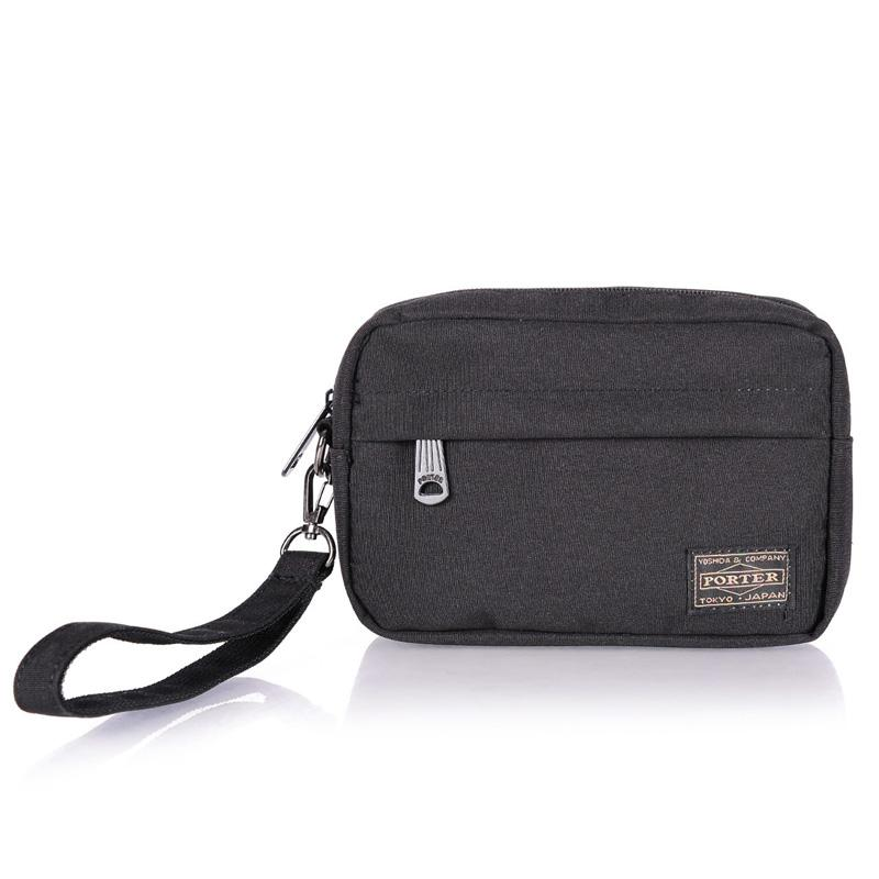 4a16dfbb73 Yoshida Head Porter Men And Women Leisure Wrist Pocket Clutch Storage Small  Bag Six Inches Big