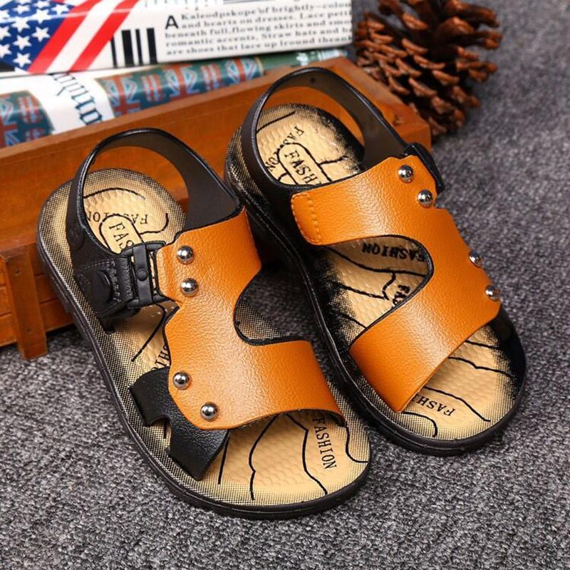 Childrens Sandals Male Summer New Style Men And Women Children Kids Soft Bottom Anti-Slip Baby Small Big Boy Childrens Shoes Sandals Fashion By Taobao Collection.