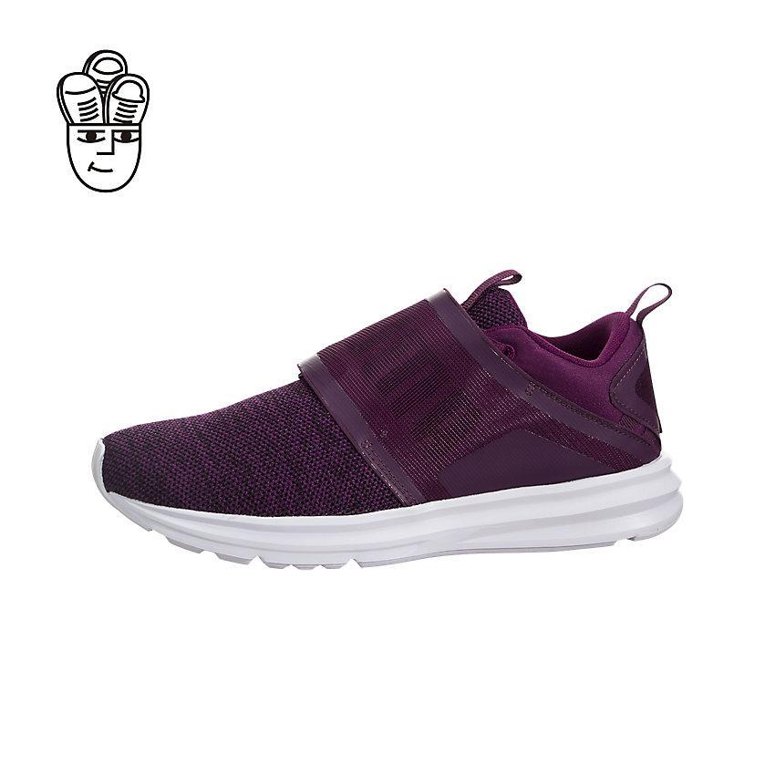 Puma Enzo Strap Knit Running Shoes Women 19003203 -SH